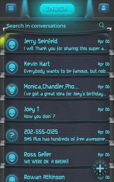 Alien Theme SMS Plus poster