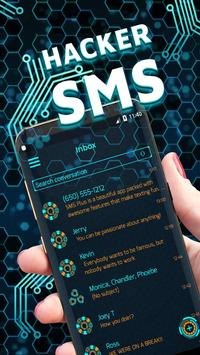 Hacker SMS poster