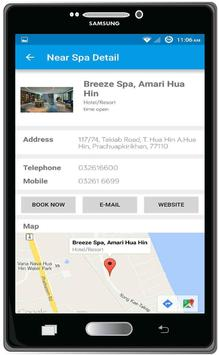Hua Hin Spa Travel. apk screenshot