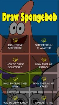 Draw Spongebob poster