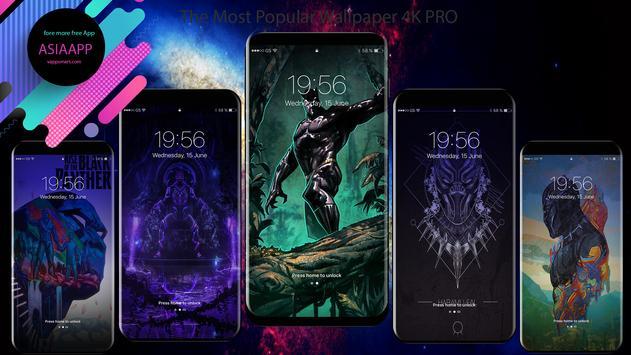 Superheroes Black Panther Wallpaper 4K screenshot 4