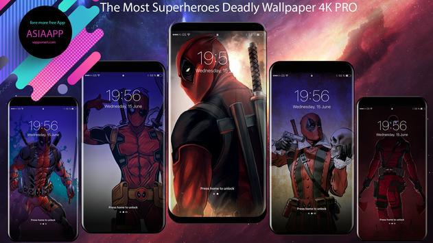 Wade Wilson - DeadPool Wallpapers 4K Free screenshot 4