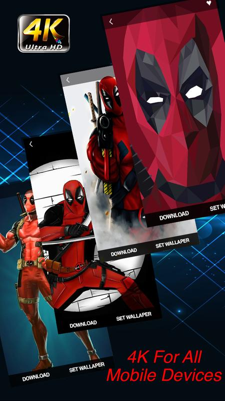 Superheroes Deadpool 4k Wallpapers Hd For Android Apk Download