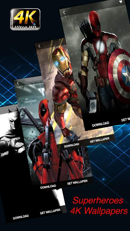 Superheroes Wallpapers 4k Hd Backgrounds Pro For Android Apk