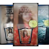 Glass PIP Lock Screen icon