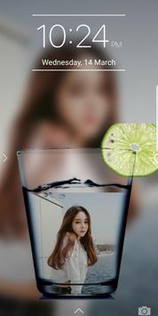 Glass PIP Lock Screen screenshot 3
