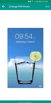 Glass PIP Lock Screen screenshot 7