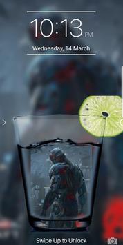 Glass PIP Lock Screen screenshot 4