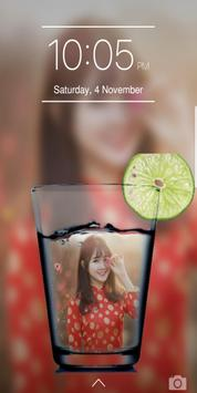 Glass PIP Lock Screen screenshot 5