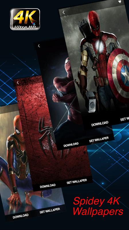spidey wallpapers 4k hd superheroes for android apk