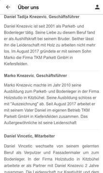 TKM Parkett GmbH screenshot 1