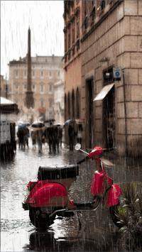 Rain app poster