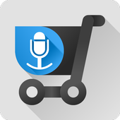 Shopping list voice input icon