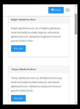 Takip Like screenshot 2