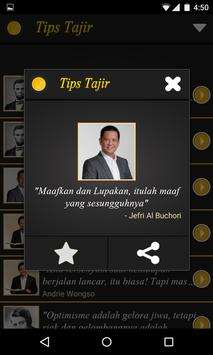 Tips Tajir apk screenshot