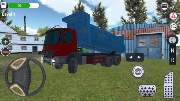 Kamyon Simülatör Oyunu 2017 apk screenshot