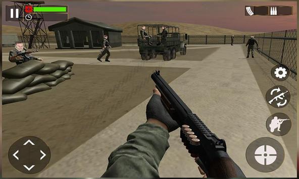 Police Sniper Lone Survivor 3D poster