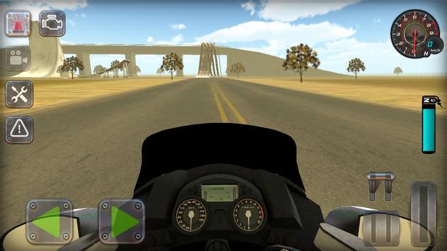 Trafik Polisi Motorsiklet Simülatör Oyunu Ekran Görüntüsü 15
