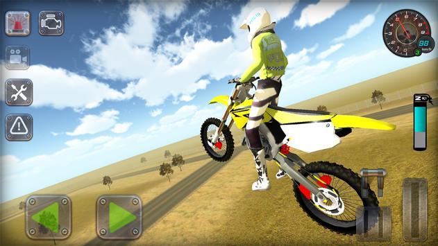 Trafik Polisi Motorsiklet Simülatör Oyunu Ekran Görüntüsü 19