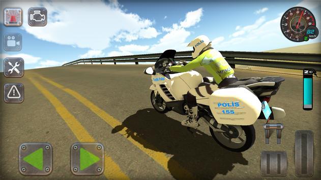 Trafik Polisi Motorsiklet Simülatör Oyunu Ekran Görüntüsü 20