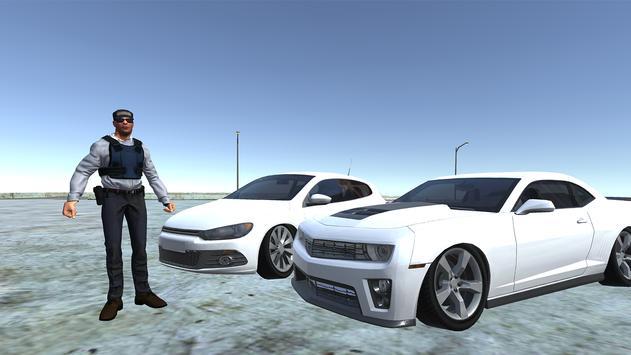 Scirocco Mustang Simulator game poster