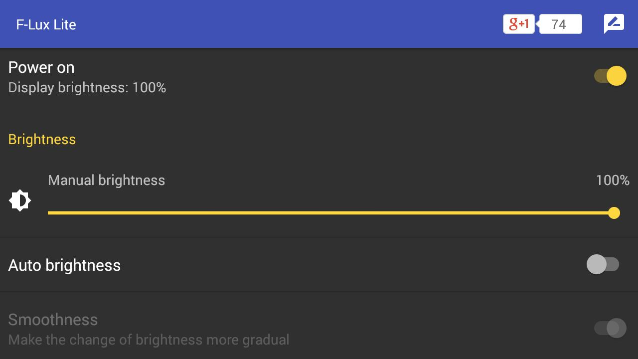 Screen Brightness Control Lite for Android - APK Download