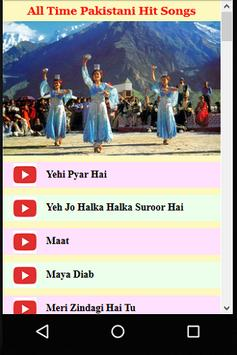 All time Pakistani Hit Songs poster