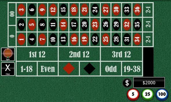 Roulette+ apk screenshot