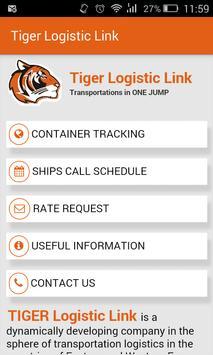Tiger Logistic Link poster