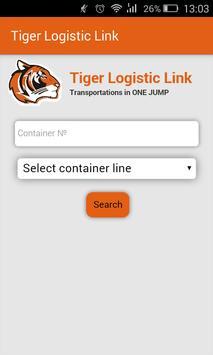 Tiger Logistic Link screenshot 1