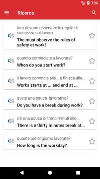 Impara l'inglese Offline screenshot 4