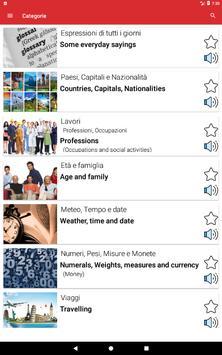 Impara l'inglese Offline screenshot 5
