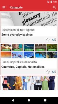 Impara l'inglese Offline screenshot 1