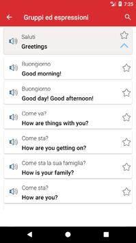 Impara l'inglese Offline screenshot 2