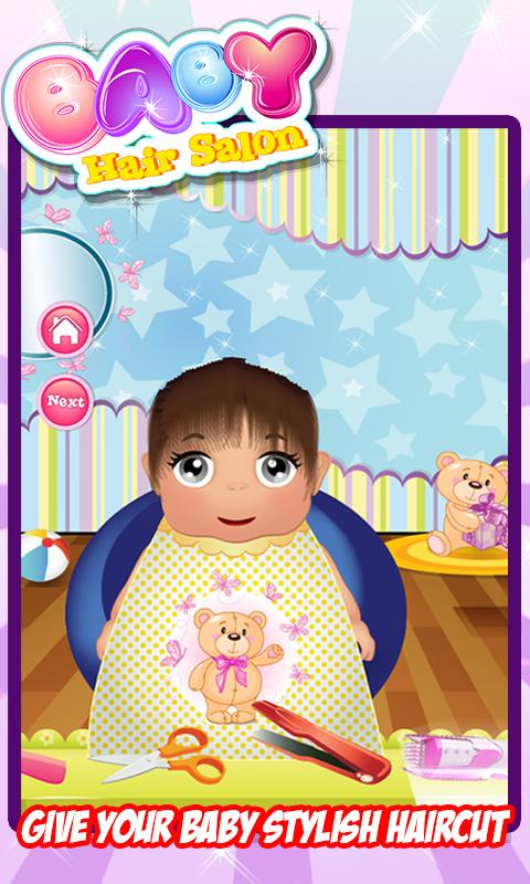 baby hair salon kids game apk download free casual game for