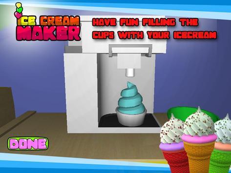 Ice Cream Maker– 3D Cooking apk screenshot