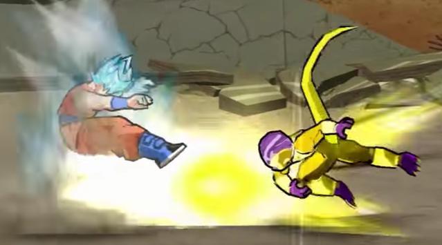 Goku Xenoverse daishinkan War poster