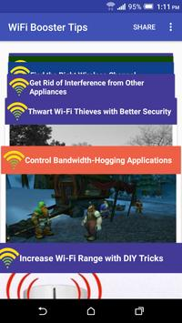 WiFi Booster Tips poster