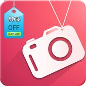 Sale Tag Camera icon