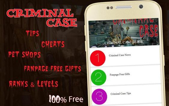 Best Guide for Criminal Case screenshot 7