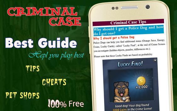 Best Guide for Criminal Case screenshot 2