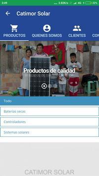 Catimor Solar screenshot 1