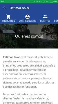 Catimor Solar screenshot 2