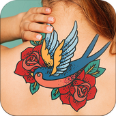 Girls tattoo maker icon