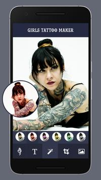 Girls tattoo maker apk screenshot