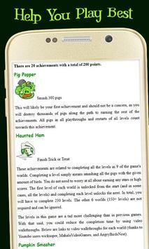 Seasons Guide to Angry Birds screenshot 1