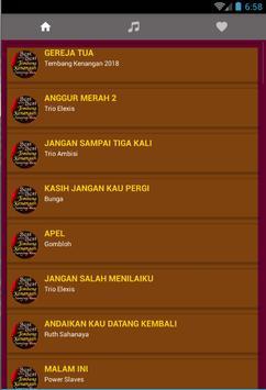 Tembang Kenangan Indonesia 2018 + Lirik apk screenshot