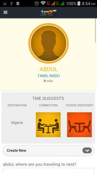 TravelMeetEat apk screenshot
