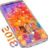 Colorful Glass Wallpaper Pack simgesi