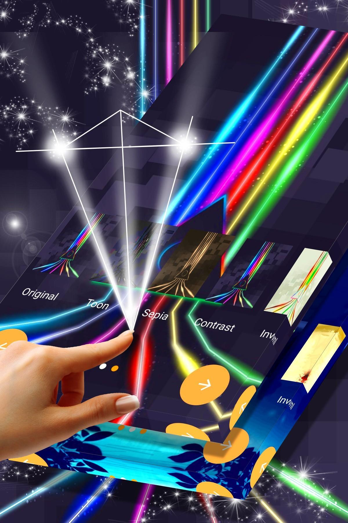 Neon Rainbow Wallpaper Pack For Android Apk Download